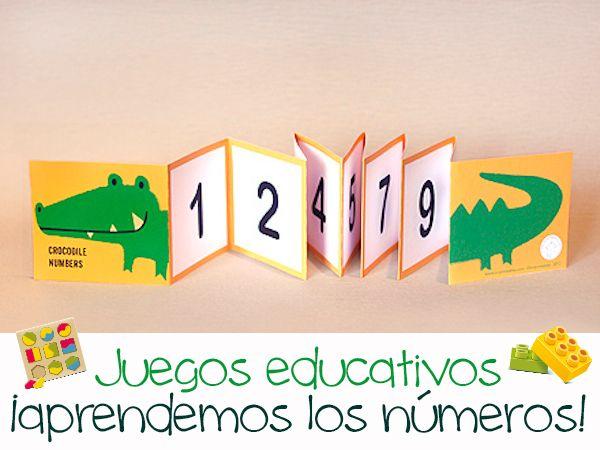 Juegos educativos caseros, ¡aprendiendo los números!