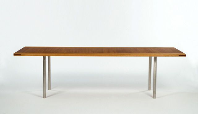 PK 50 Conference table, 2007 edition produced in Denmark by Sean Kelly Gallery and R 20th Century., 1964/2007, by Poul Kjærholm