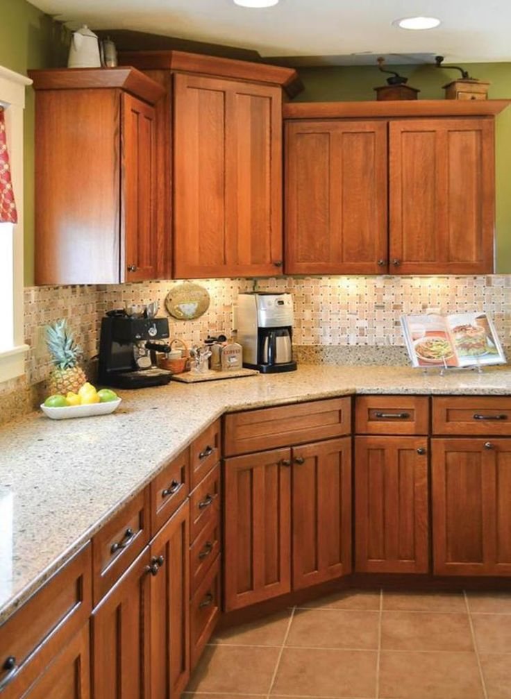 Kitchen Wall Colors With Oak Cabinets 20 In 2019 Kitchen