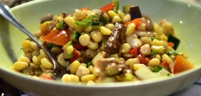 Καλοκαιρινή σαλάτα με ρεβύθια