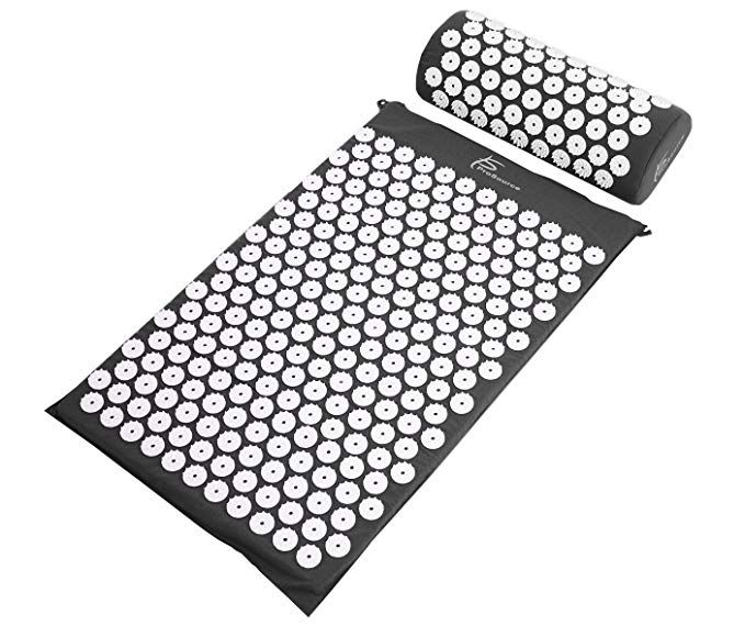Prosource Acupressure Mat And Pillow Set For Back Neck