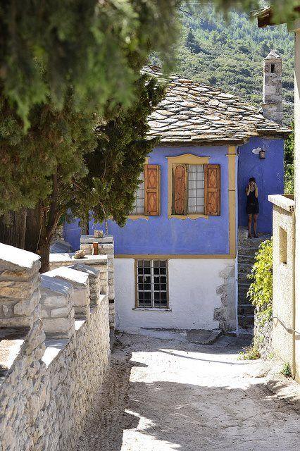 Theologos village, Thassos