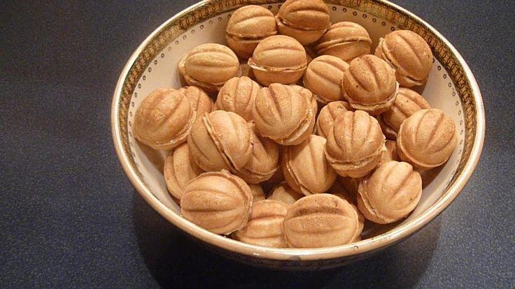 Печенье орешки. / Cookies walnuts.