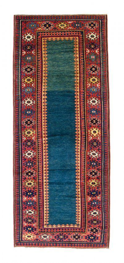 Kazak rug 9ft. 4in. x 3ft. 9in. (284 x 114 cm) Caucasus circa 1870