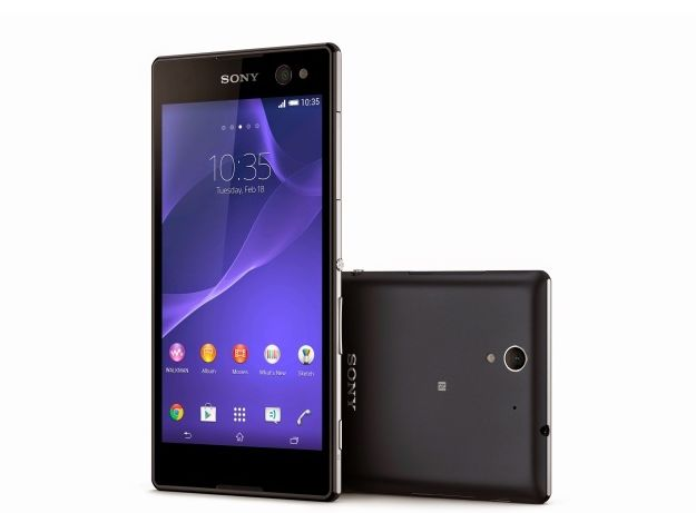 Sony Launched  Xperia C3 For The Selfie Lovers