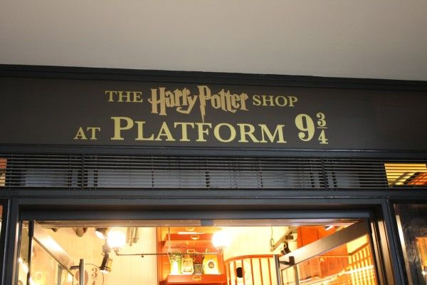 Photos from the New Platform 9 3/4 Shop at Kings Cross Station in London