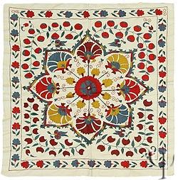 Uzbek Suzani, love them for decorating