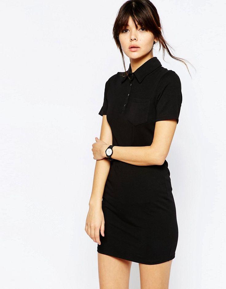 Image 1 of ASOS Polo Shirt Dress