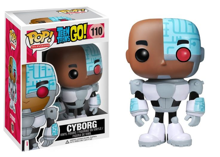 Funko POP! TV: Teen Titans Go! - Cyborg