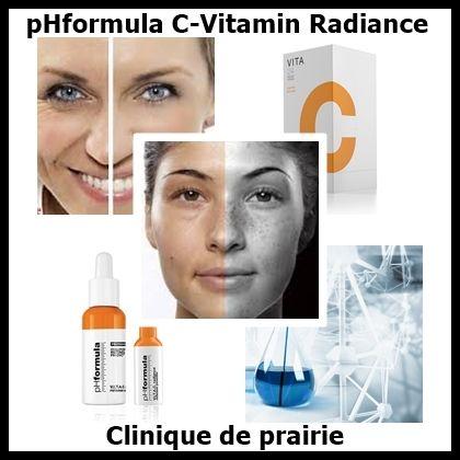 Boost huden med en pHformula C-vitamin Radiance behandling.  http://cliniquedeprairie.com/page78.php www.cliniquedeprairie.com