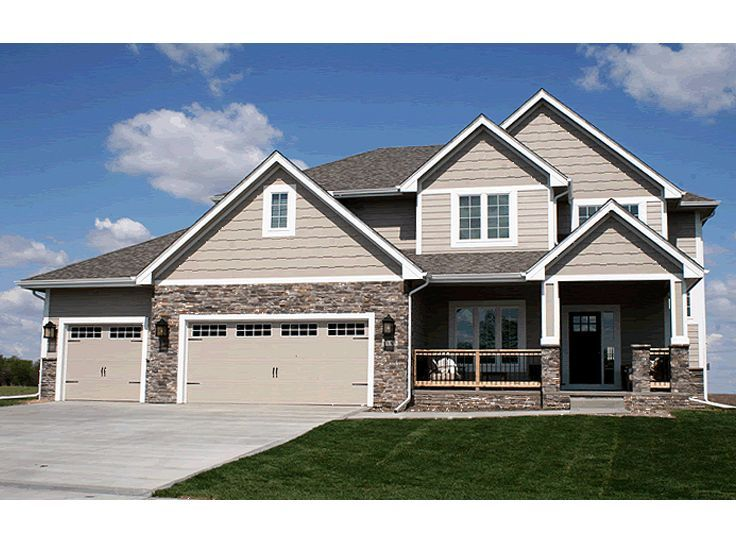 for a 2 story, i acutually like this floor plan | For my ...