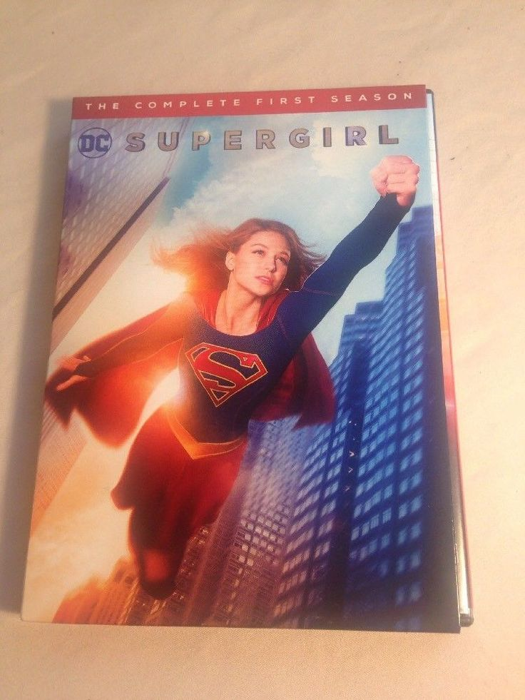 Supergirl: The Complete First Season (DVD, 2016, 5-Disc Set) Season 1