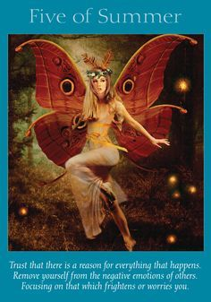 Oracle Card Five of Summer | Doreen Virtue | official Angel Therapy Web site
