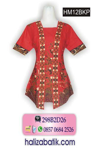 Batik Pekalongan Online, Model Batik Terbaru, Butik Baju Wanita, HM12BKP