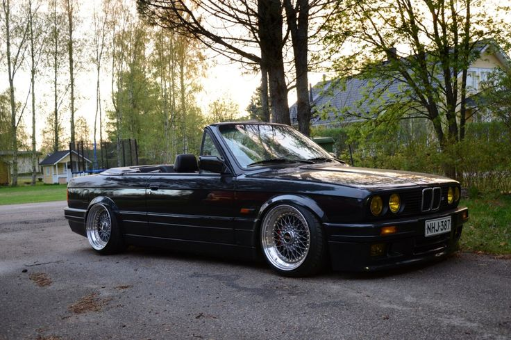 BMW (E30) 325i Cabriolet Voiture et E36