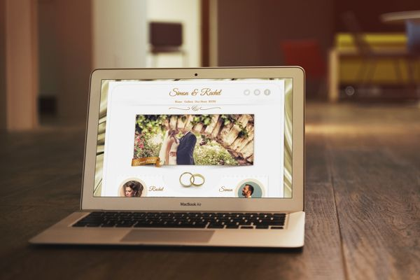 Wedding Template by Grigoriu Andrei, via Behance