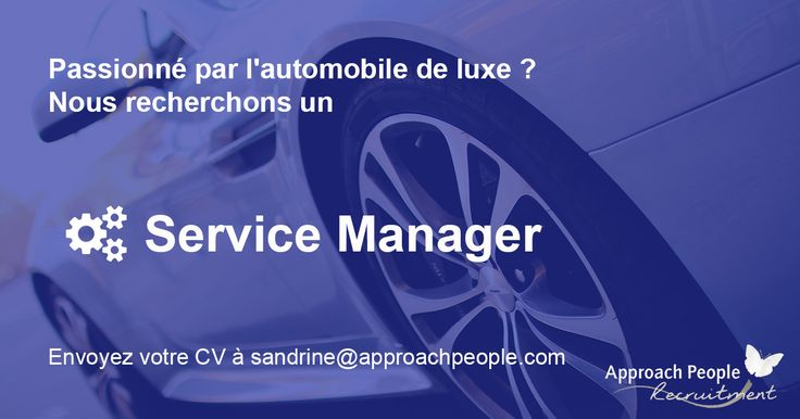 La relation client est votre force ? Et vous êtes un accro d'automobile ? Ne cherchez plus, nous avons le CDI de vos rêves par ici : http://www.approachpeople.com/international/job-description/?id_job=14405 #jobs #france #manager #automobile #emploi