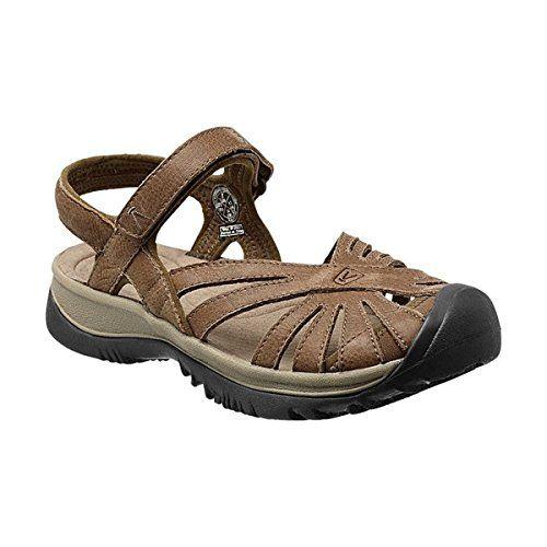 (キーン) KEEN レディース シューズ・靴 サンダル Rose Leather Sandal 並行輸入品  新品【取り寄せ商品のため、お届けまでに2週間前後かかります。】 表示サイズ表はすべて【参考サイズ】です。ご不明点はお問合せ下さい。 カラー:Dark Earth/Brindle