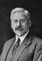 Charles Edouard Guillaume (1891-1938). Physiker. Nobelpreis für Physik. Porträt aus dem Bildarchiv der ETH-Bibliothek.