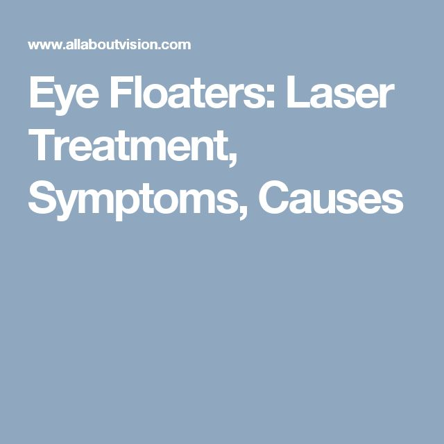 Eye Floaters: Laser Treatment, Symptoms, Causes