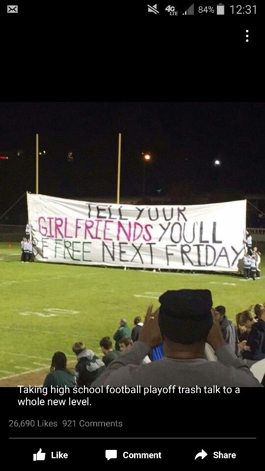 Taking high school football playoff trash talk to a whole new level