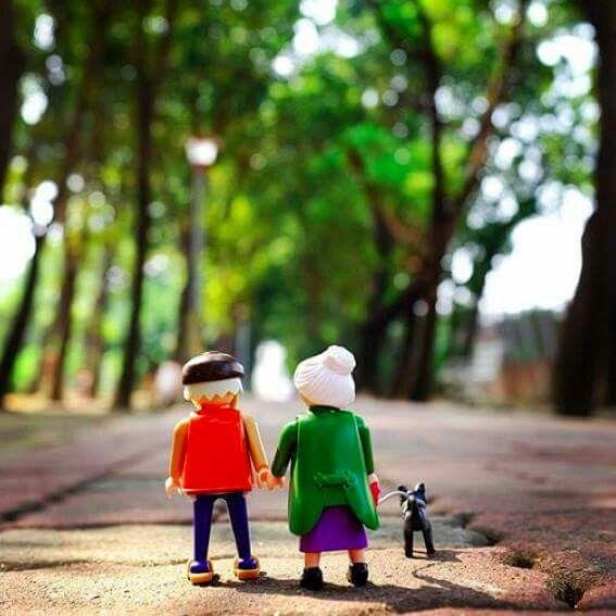 Abuelos paseo