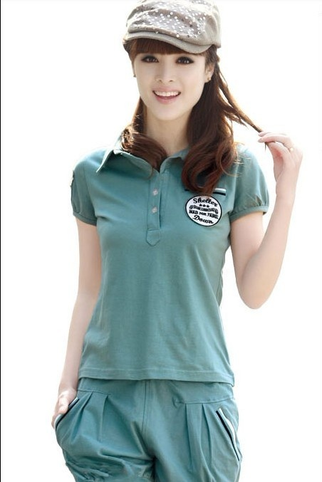 Leisure sports clothes for women