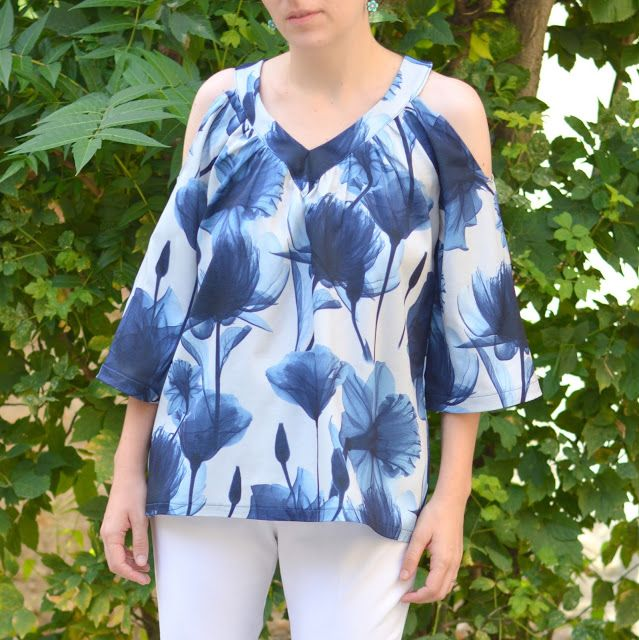 I believe I can sew...: Butterick 6457 cold shoulder tunic take 2