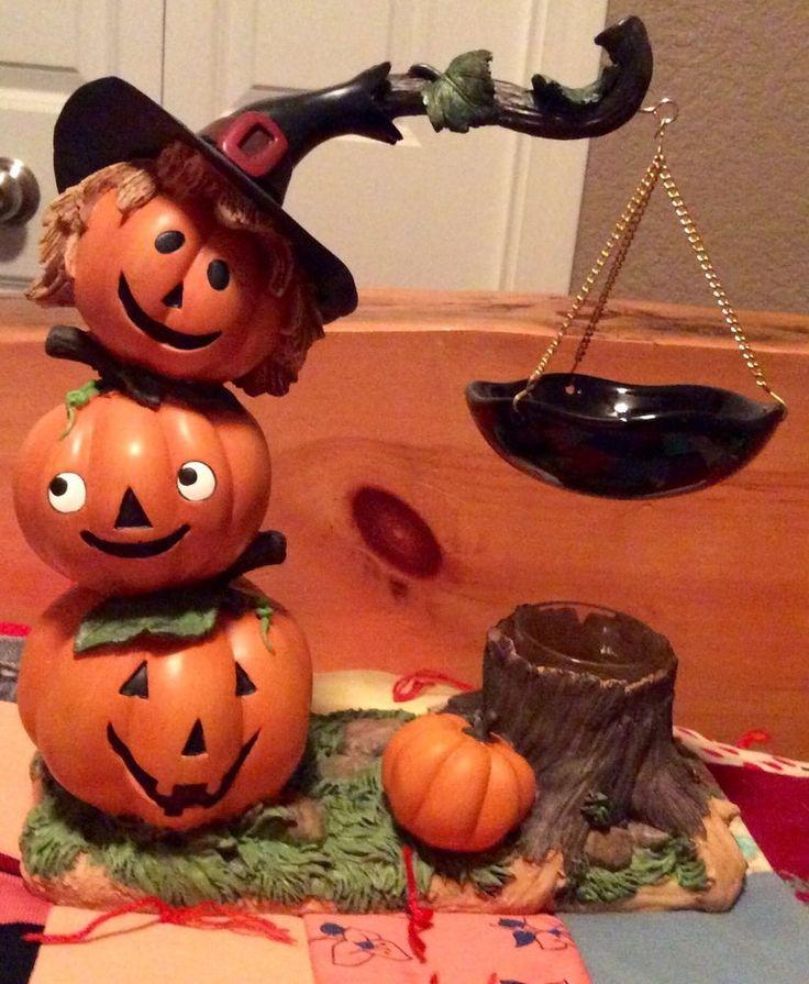Yankee Candle 2010 Pumpkin Pals Hanging Tart Burner NWT and Box VHTF