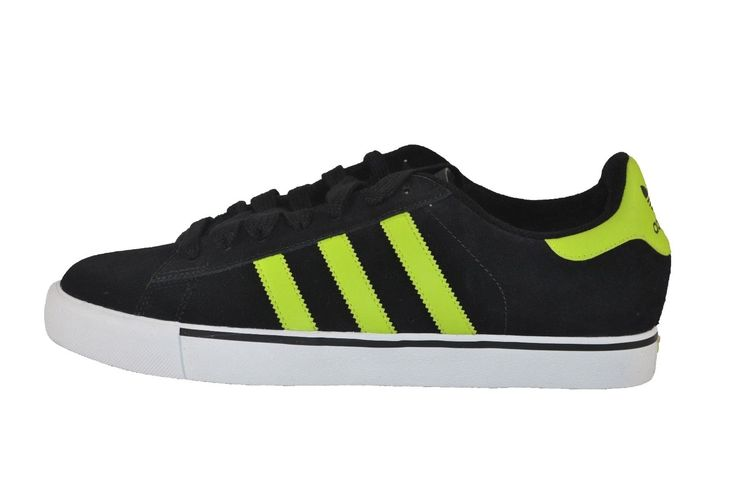 Adidas Campus Vulc Black Electricity Running White Discounted 171 Men's Shoes | eBay