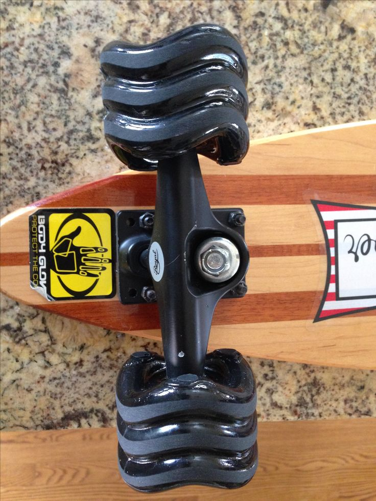 Square skateboard wheel - faster, smoother, lasts longer