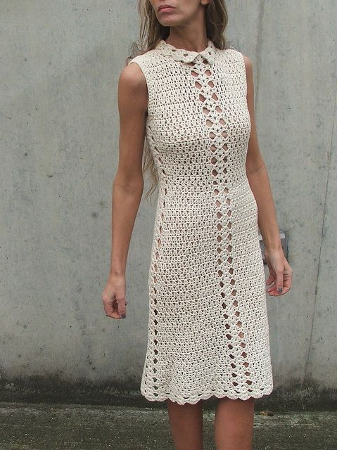 pinterest fachion crochet dress | clothing - 5 - a gallery on Flickr