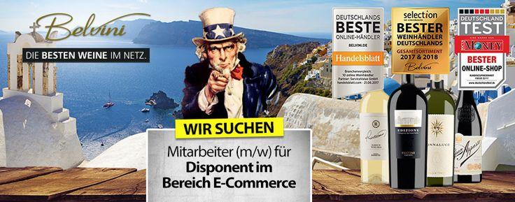 Wanted: Disponent (w/m) im Bereich E-Commerce - http://weinblog.belvini.de/wanted-disponent-w-m-im-bereich-e-commerce