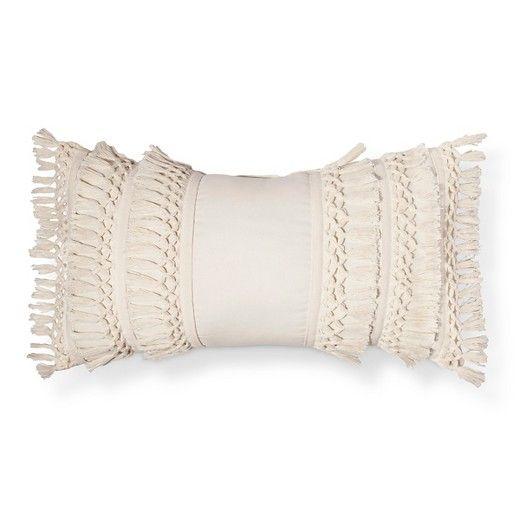 Cream Solid Throw Pillow - Threshold™ : Target