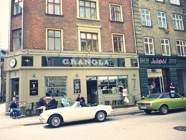 Granola Café in Copenhagen. emilysalomon.dk