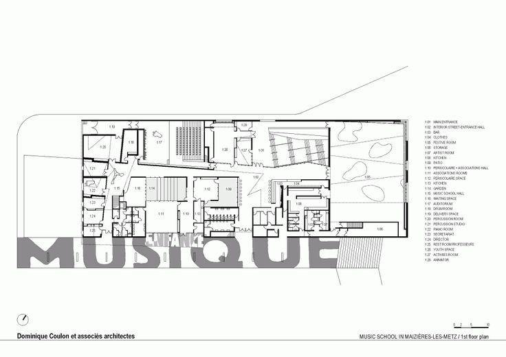 Maizières Music Conservatory  / Dominique Coulon & Associés