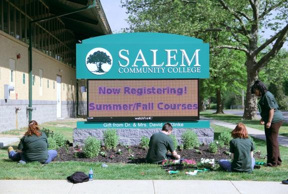 I taught English as an adjunct at Salem Community College from 2002-2003.