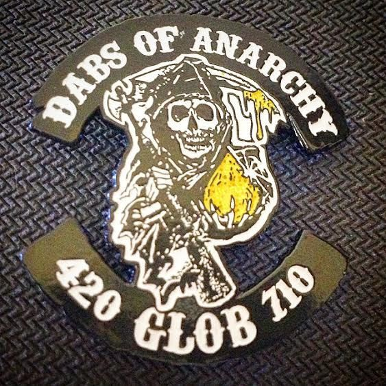Dabs of Anarchy Hat Pin by ThePinMonger on Etsy
