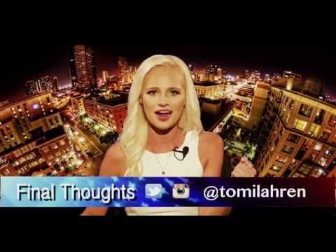 Young News Anchor message to Obama goes viral - Final Thoughts from Tomi Lahren - YouTube