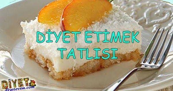Kalorisi az diyet etimek tatlısı tarifini kolayca yapın, keyifle tüketin.