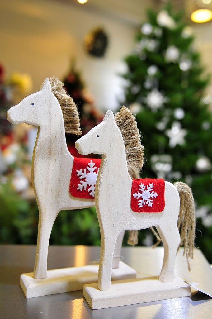 Wooden Scandinavian Style Horses
