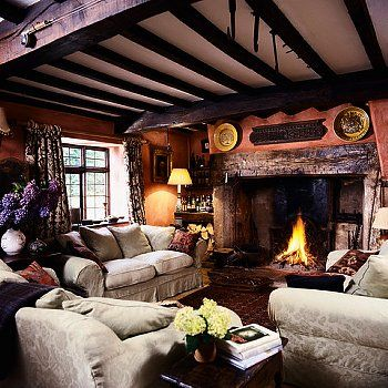 770 Best Images About Country Cottage Living Room On
