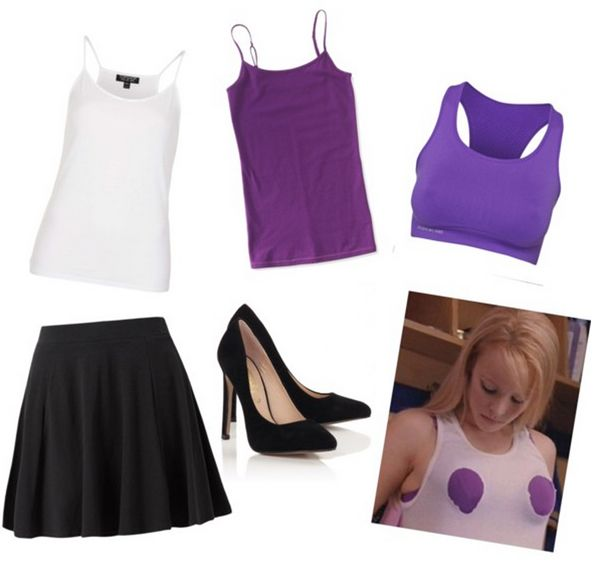 Last Minute Regina George costume