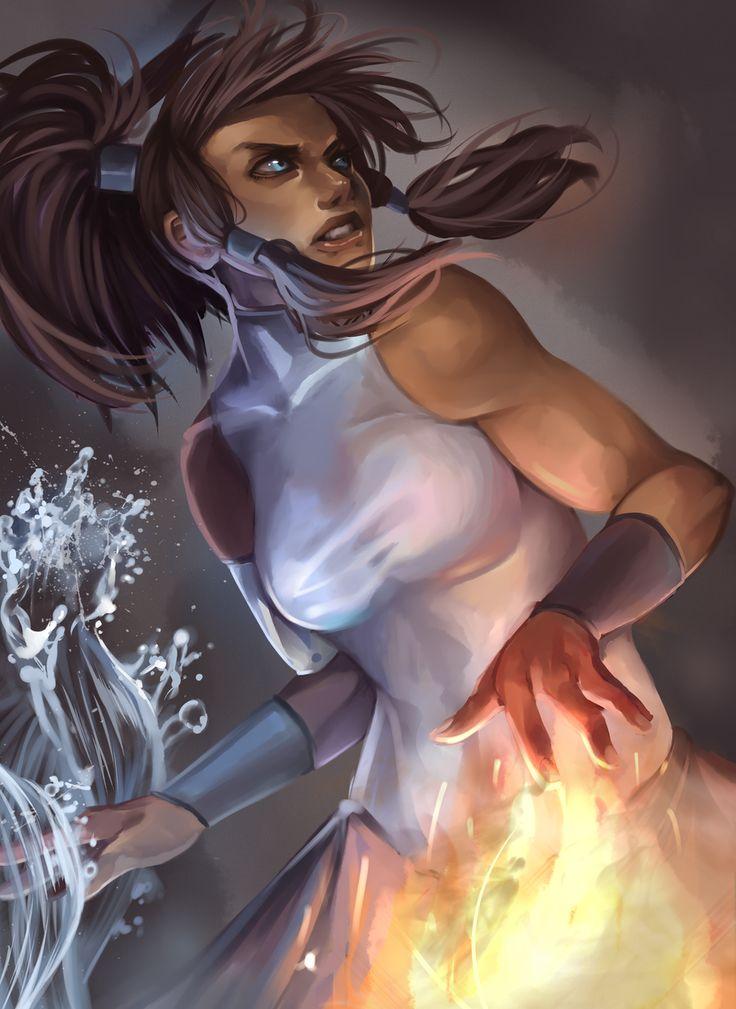 legend of korra by *milkydayy on deviantART