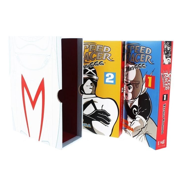 Speed Racer Mach Go Go Go Comic Book Box Set, Multi-Colored