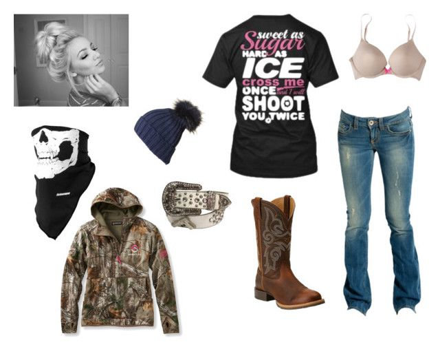 """Cuz its startin to get a lil chilly"" by johndeerebabe on Polyvore featuring GUESS, Ariat, Xhilaration, Black and ScentLok"