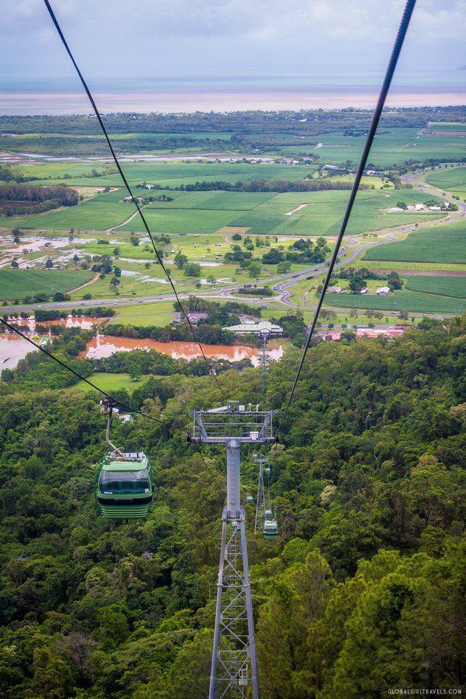 Kuranda Skyrail and scenic railway Cairns, Australia
