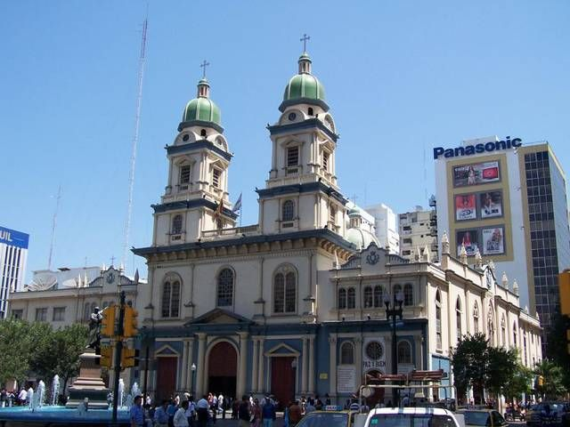 Plaza San Francisco is a church in Guayaquil near the Pedro Carbo.