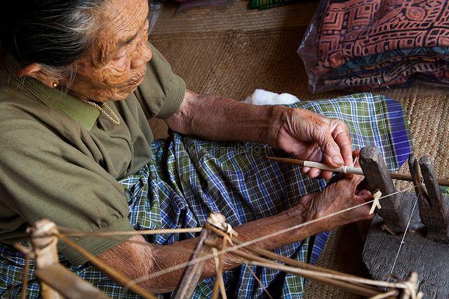Spinning wheel, Tana Toraja by Marji Lang, via Flickr