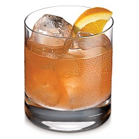Summer Breeze:  1 Shot Ketel One Oranje Flavored Vodka,   1 Shot Cranberry Juice,  1 Shot OJ, Ice